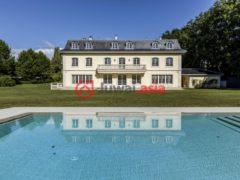 居外网在售瑞士米村的房产总占地11637平方米