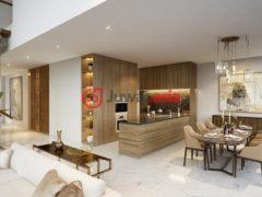 居外网在售越南3卧2卫的新建房产总占地175平方米