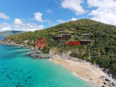 居外网在售英属维尔京群岛6卧11卫的房产总占地11291平方米