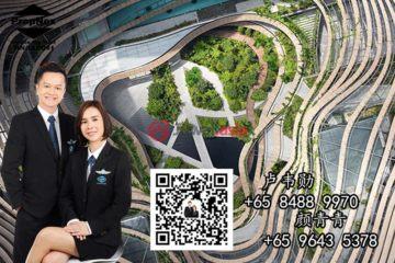 居外网在售新加坡3卧2卫新开发的房产总占地24244平方米SGD 3,618,000