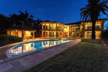居外网在售澳大利亚7卧6卫特别设计建筑的房产总占地4007平方米AUD 5,800,000