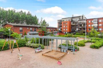 芬兰万塔1卧1卫曾经整修过的房产