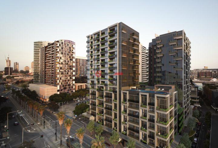 U乐国际娱乐维多利亚州墨尔本的房产,Docklands Drive,编号28122184