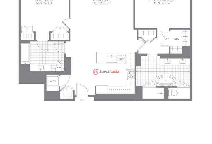 美国新泽西州威霍肯的房产,800 Avenue at Port Imperial,编号28405838