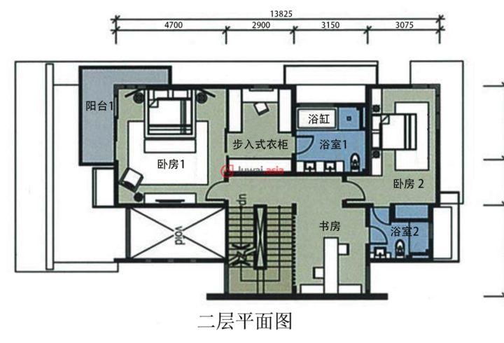 100平方三層樓設計圖