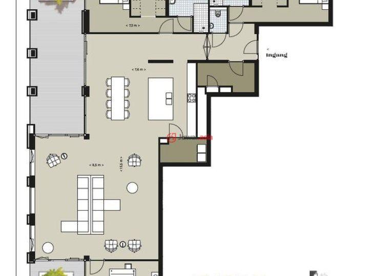 荷兰海尔德兰聚特芬的房产,De Clercqstraat ong,编号37329474