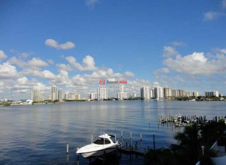 美国佛罗里达州阳光岛海滩的房产,17900 north bay rd,编号23113541